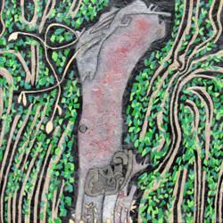 apple tree (stump)