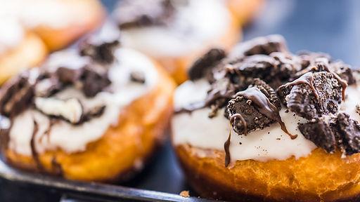 Sjokolade og Iced Pastry