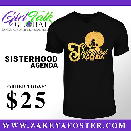 Sisterhood Agenda T-shirt