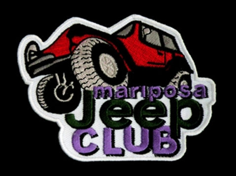 Mariposa Jeep Club Patch