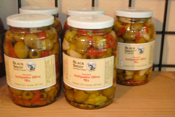 Gourmet Antipasto Olive Mix