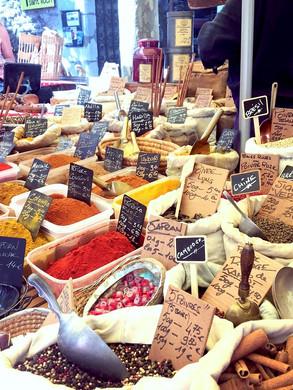 Reknown market of Ceret // Le fameux marche de Ceret