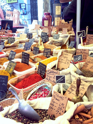 Reknown market of Ceret // Le fameux marche de Ceret