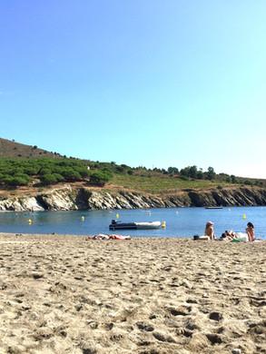 Paulilles beach // Plage de Paulilles