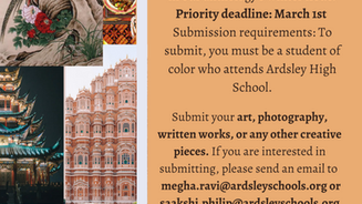 Submit Your Creative Work to the Asian Students Union!