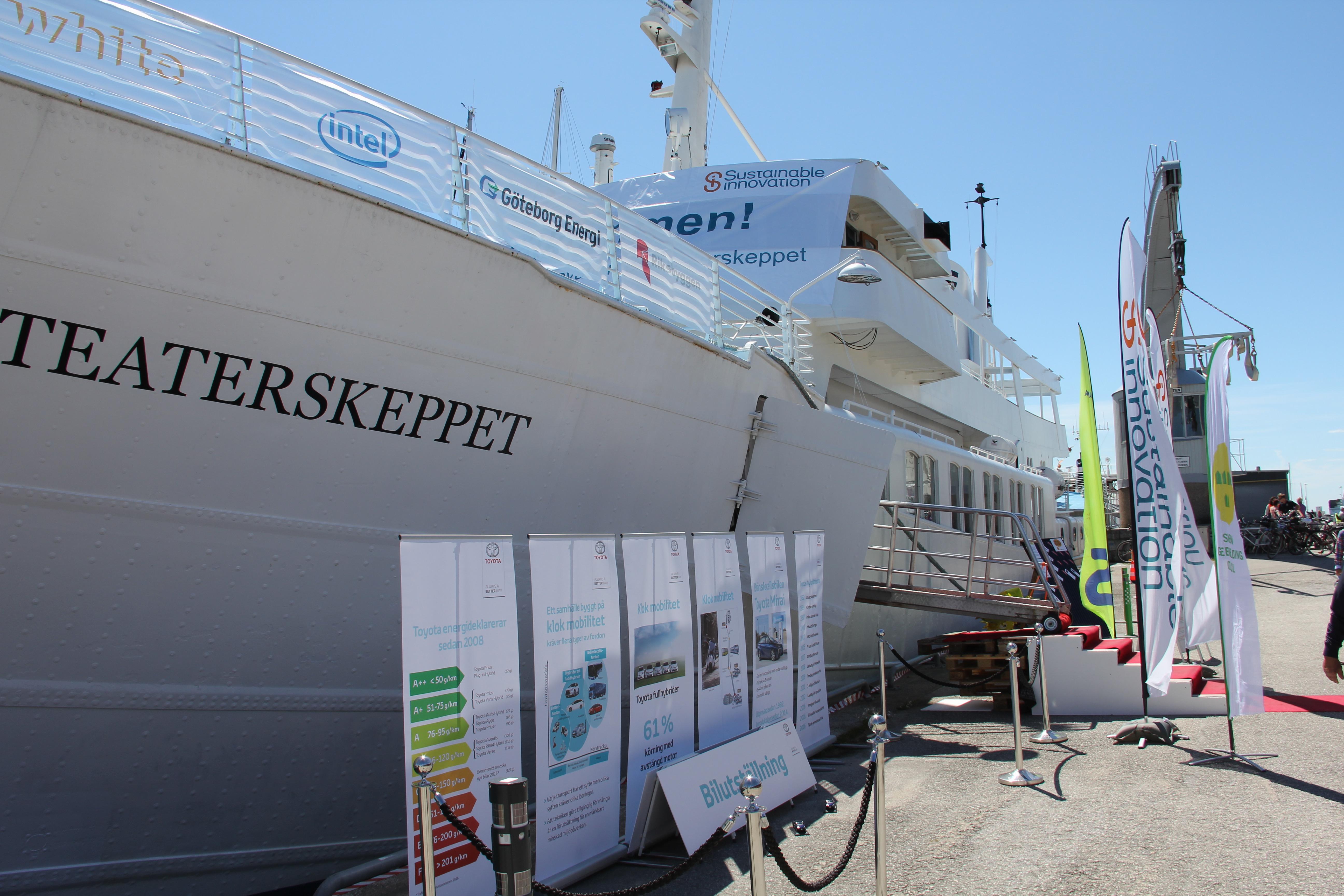 Teaterskeppet i Visby Gästhamn