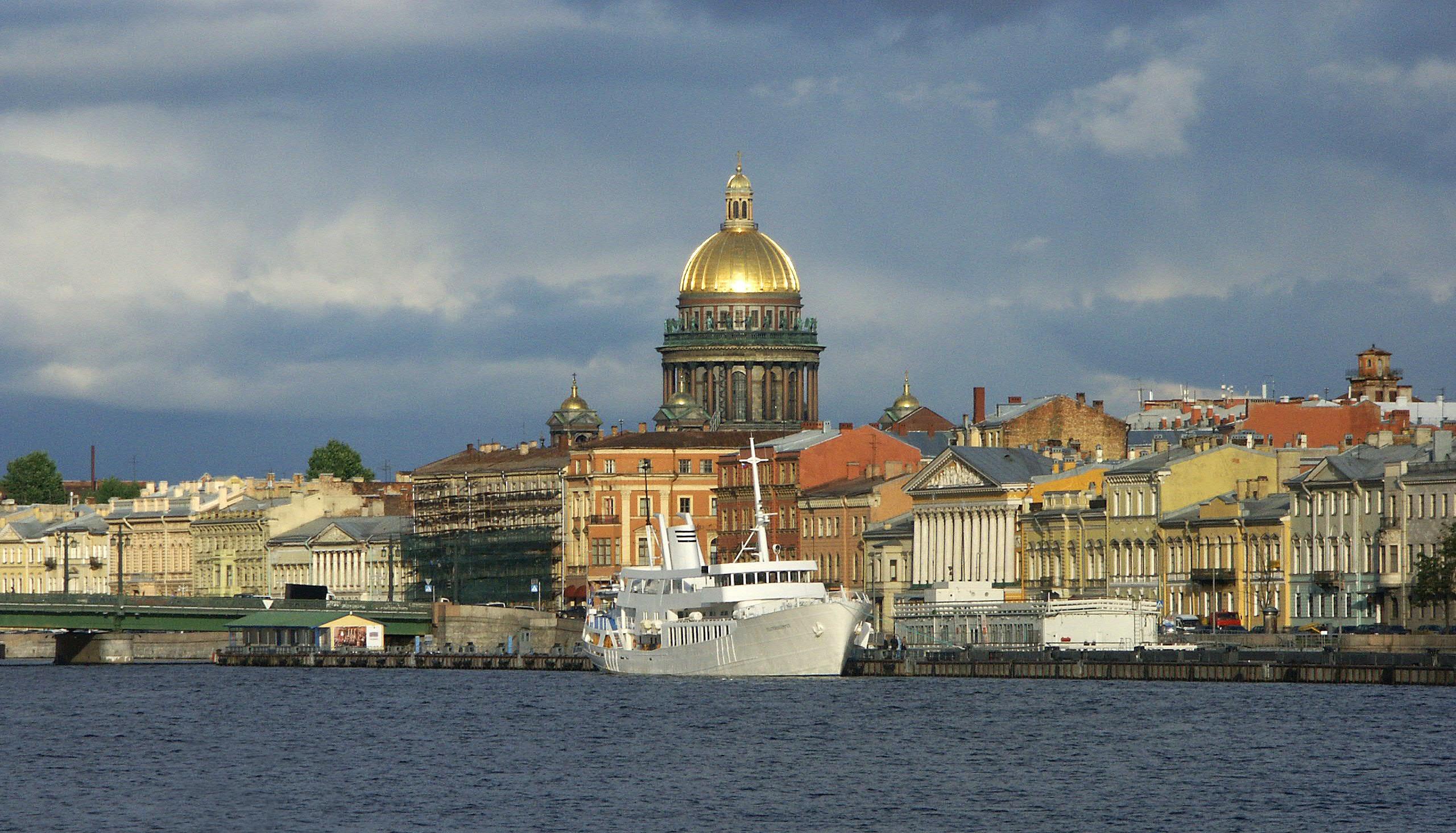 Teaterskeppet i St Petersburg