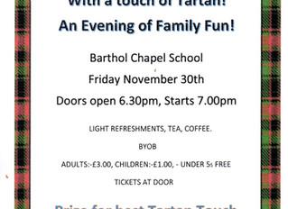 Barthol Chapel Mac-Beetle Drive - This Friday 30th November
