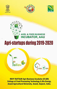 Booklet of Agri-startups during 2019-202