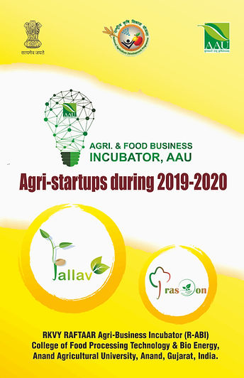 Booklet of Agri-startups during 2019-202