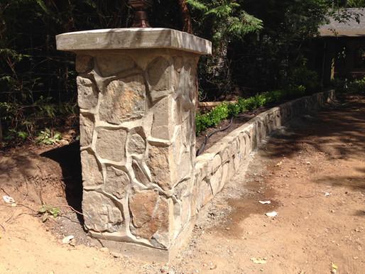 Rock Culverts, Posts and Walls
