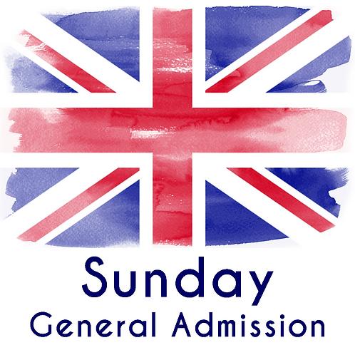Sunday General Admission