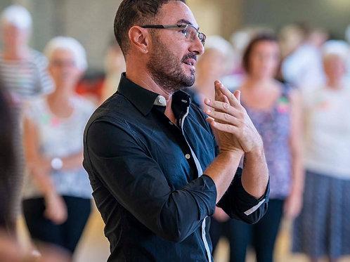 Workshop with Vincent Simone
