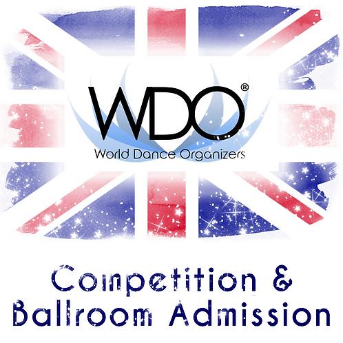 WDO U19 Youth Latin Entry & Admission