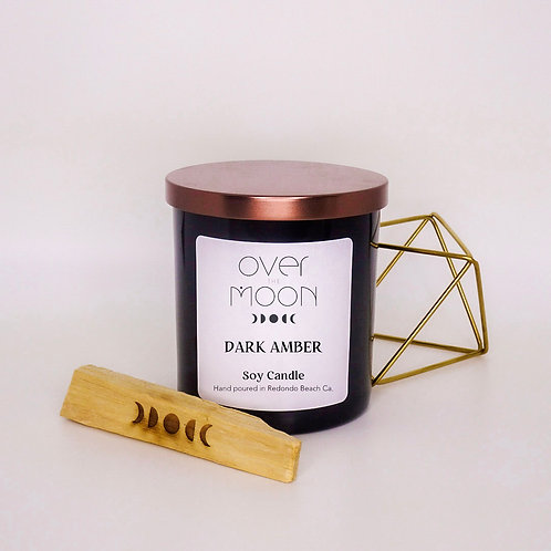 Dark Amber Soy Candle