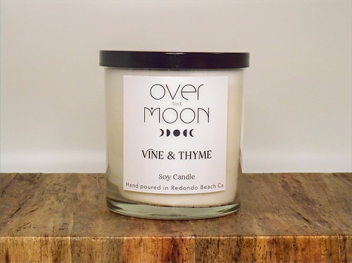 Vine & Thyme Soy Candle