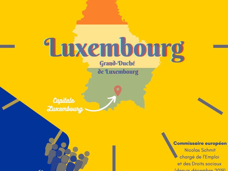 Infographie du Luxembourg