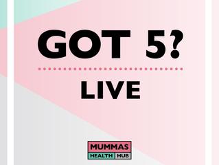 Got 5? LIVE.......
