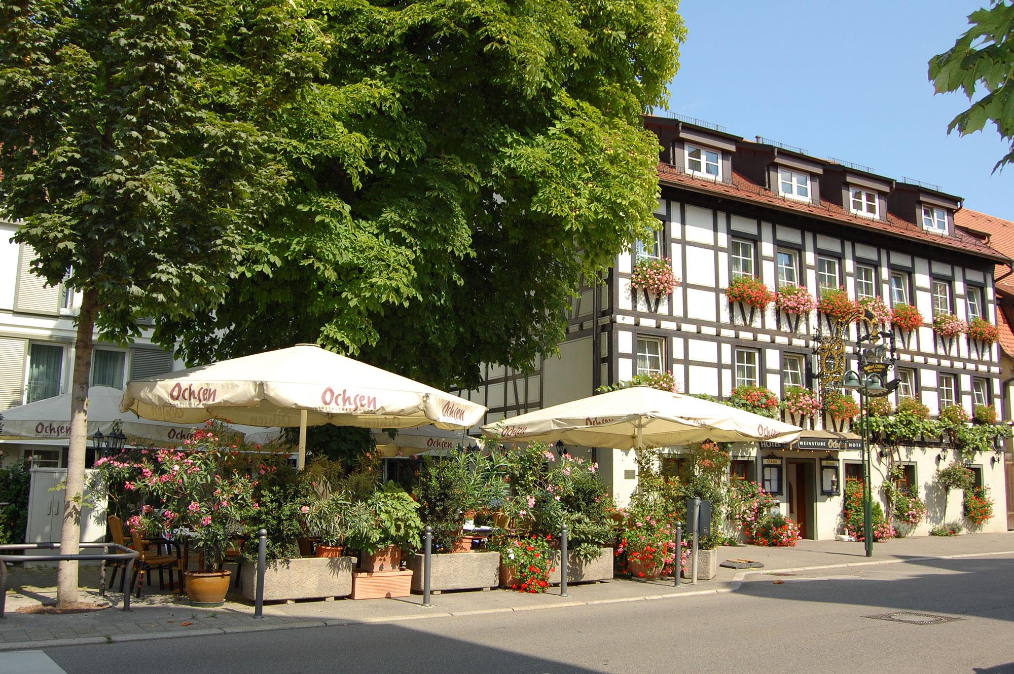 Hotel Ochsen Stuttgart Aussenansicht