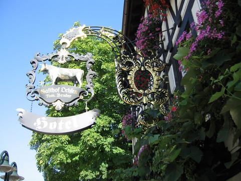 Hotel Ochsen Stuttgart-Wangen außen