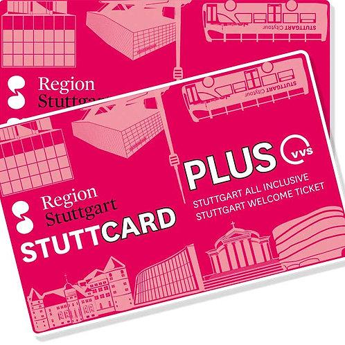 Stuttcard - Das Welcome-Ticket für Stuttgart