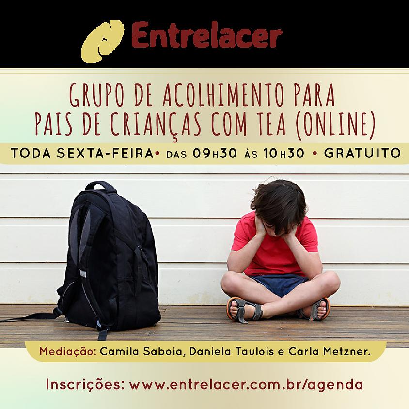 Grupo de acolhimento para pais de crianças com TEA (online)