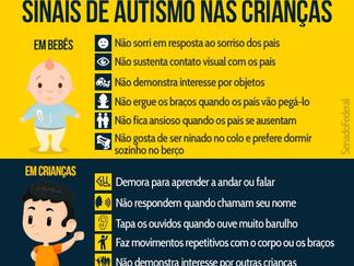 Transtorno Espectro Autista (TEA): Quando suspeitar?