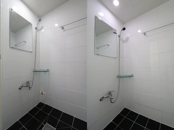 5층 샤워실 2개