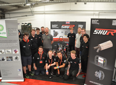 SHU Racing Compete at Silverstone 2017