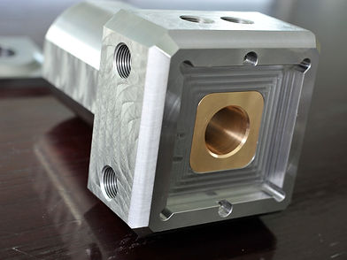 Machined precision bearing support