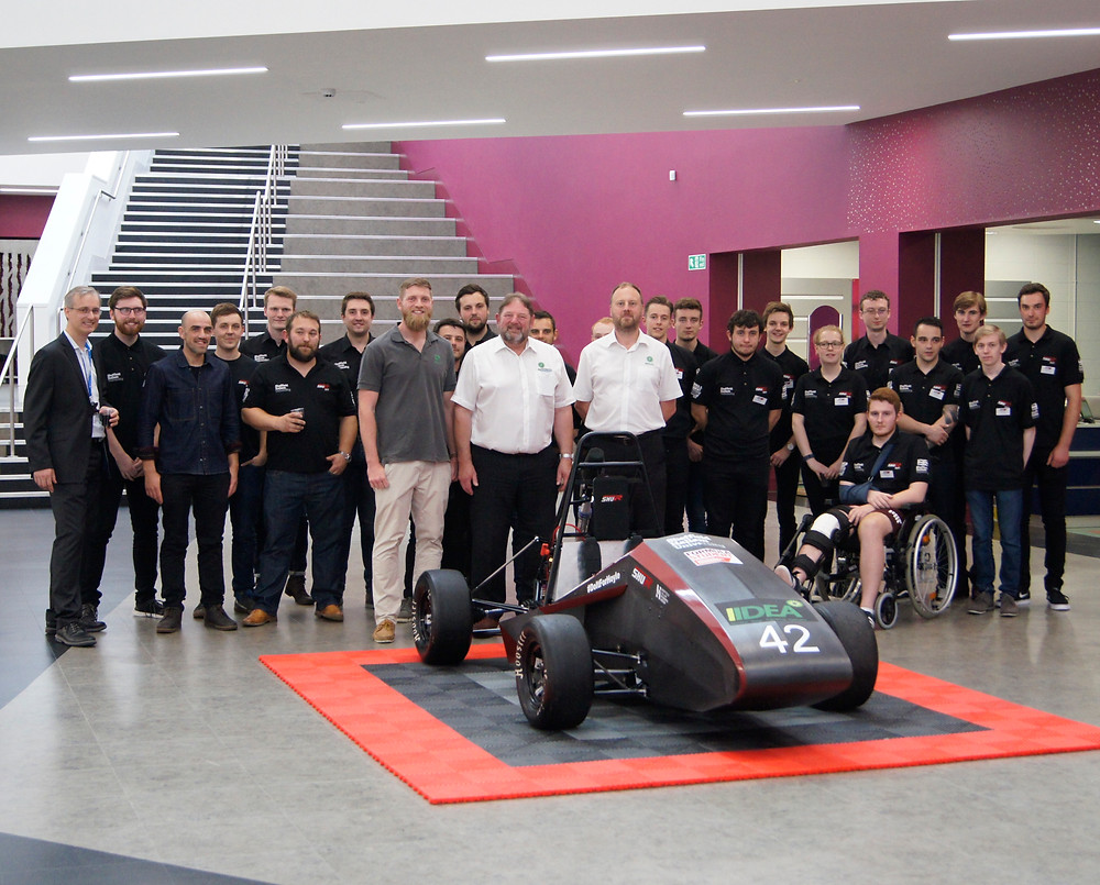 IIDEA Invited to the SHU Racing Launch Event in 2017