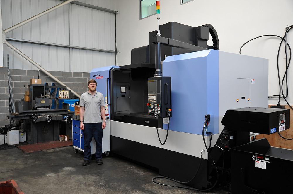 New DOOSAN Mynx 7500/50 machining centre comes to IIDEA Limited