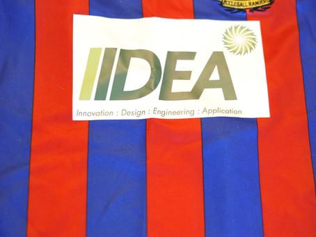 IIDEA shirt sponsor for Ecclesall Rangers FC