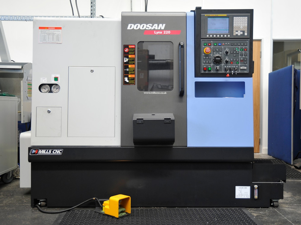 Due to the high workload of our first DOOSAN Lynx, we have ordered a second machine to work alongside the first.
