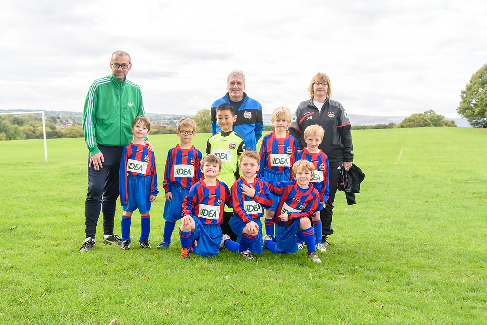 IIDEA are proud to sponsor Sheffield football team Ecclesall Rangers under 7's