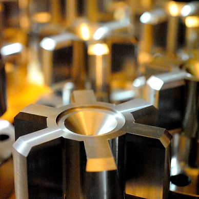 CNC machined components produced by IIDEA Limited
