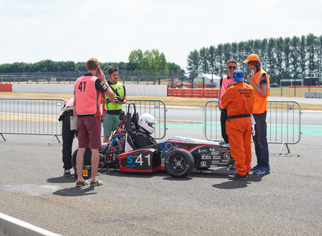 SHU Racing Team Compete at Silverstone
