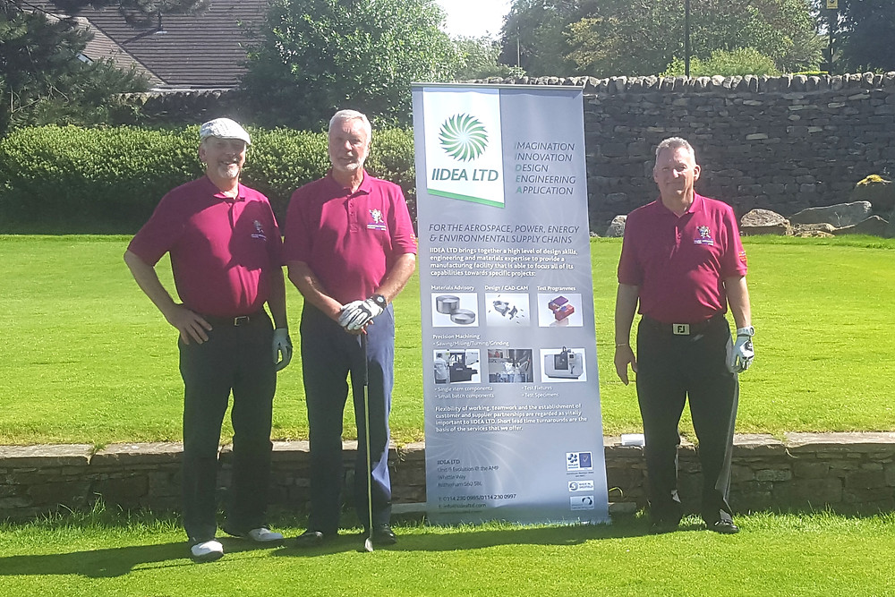 IIDEA Ltd attended a charity golf day for Weston Park Hospital at the Hallamshire Golf Club