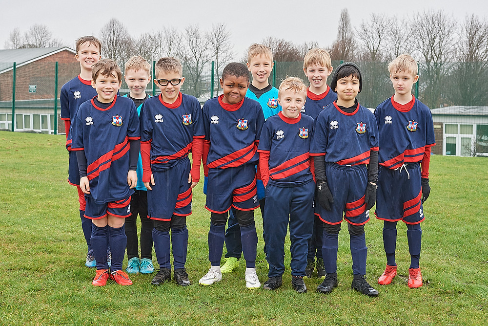 2019 - 2020 Ecclesall Rangers Under 9's Red Team sponsored by IIDEA Limited