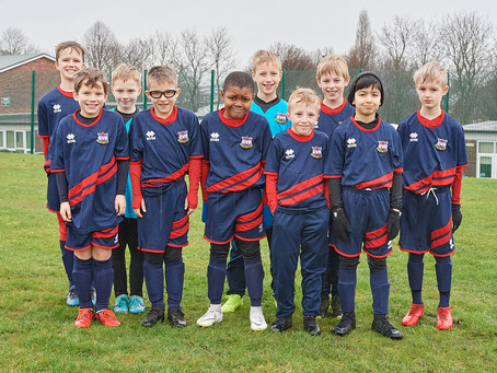Continuing Support for Ecclesall Rangers Under 9's Red Team