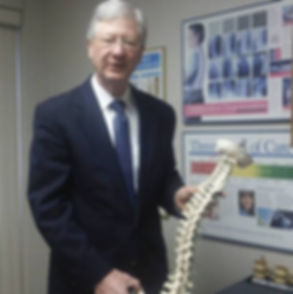 Dr. Gloekler describing spinal function