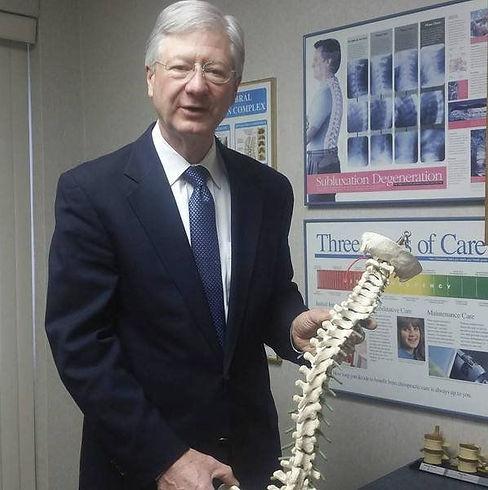 Dr. Gloekler describing spinal function