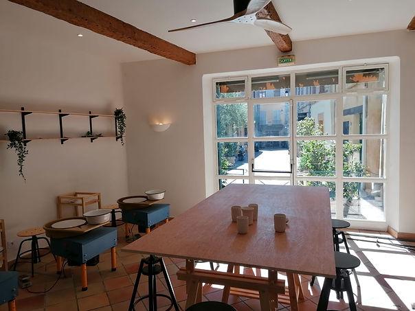 Atelier 8-cours de poterie-Aix en Proven