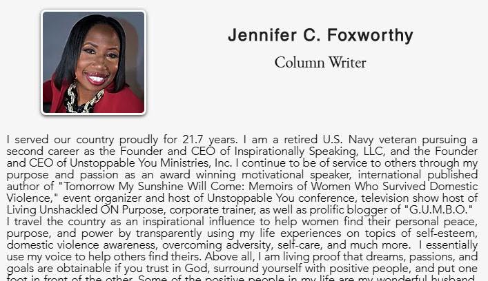 Jennifer Foxworthy