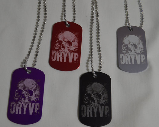 DRYVR DOG TAGS