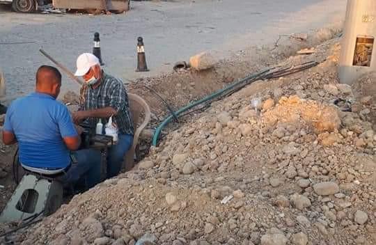 وزارة الإتصالات تعلن عن إصلاح قطع في كابل ضوئي يربط العراق بإيران