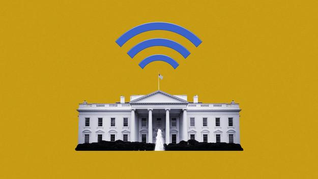 البيت الأبيض يطالب برفع سعات الإنترنت في الولايات المتحدة.