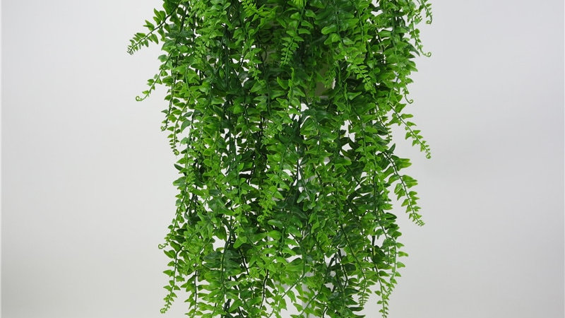 Artificial Plants for Decoration Plastic Flowers Green Plant Vine Wall Hanging
