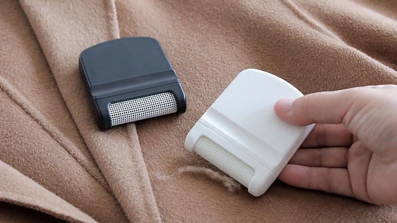 New Mini Lint Remover Hair Ball Trimmer Fuzz Pellet Cut Machine Portable
