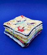 lingettes tissu lavables écologie petits